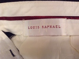 Dark Green 100 Percent Wool Pleated Front Dress Pants Louis Raphael Size 34 image 9
