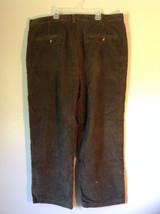 Dark Green Eddie Bauer Corduroy Size 40 Pants image 3