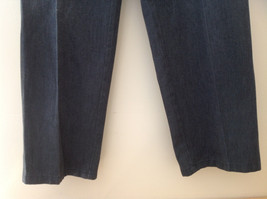 Dark Gray Pleated 4 Pocket Casual Pants Button Zipper Closure Dockers Size 38 image 3