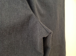 Dark Gray Pleated 4 Pocket Casual Pants Button Zipper Closure Dockers Size 38 image 7