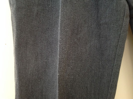Dark Gray Pleated 4 Pocket Casual Pants Button Zipper Closure Dockers Size 38 image 5