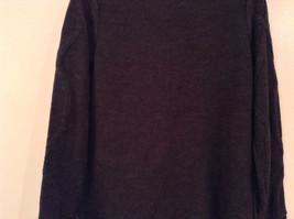 Dark Gray Knitted Liz Wear Turtleneck Sweater Size Medium Long Sleeves image 7