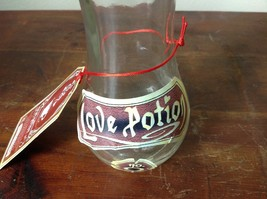 Decorative Glass Bottle with Cork Love Potion No 9 Hakon and Heks New with Tags image 2
