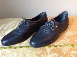 Dark Blue Easy Spirit Anti Gravity Shoes E S Motion Leather Upper Balance image 8