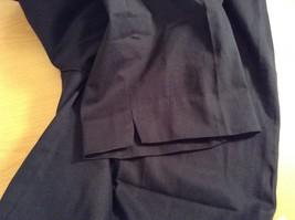 Dark Blue Briggs New York Size 16W Capri Pants Side Zipper Closure Cotton Blend image 8