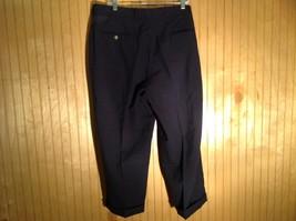 Dark Blue Pleated Dress Pants Size 40 Cordovan and Grey 100 Percent Virgin Wool image 4