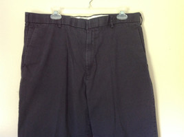 Dark Blue DOCKERS Long Casual Pants Size 38W 32 Long 2 Front and Back Pockets image 2