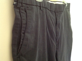 Dark Blue DOCKERS Long Casual Pants Size 38W 32 Long 2 Front and Back Pockets image 4