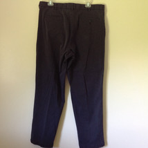Dark Blue DOCKERS Long Casual Pants Size 38W 32 Long 2 Front and Back Pockets image 5
