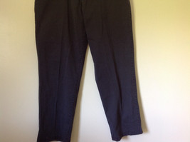 Dark Blue DOCKERS Long Casual Pants Size 38W 32 Long 2 Front and Back Pockets image 3