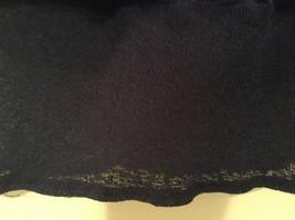 Dark Blue Stretch Fabric Kathy Ireland 100 Percent Polyester Size Medium Skirt image 4