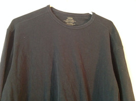 Dark Blue Long Sleeve 100 Percent Cotton Izod Shirt Made In Vietnam Size Large image 2