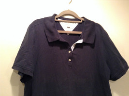 Dark Blue Short Sleeve Cotton Blend Tommy Hilfiger Polo Shirt Size 2X image 2