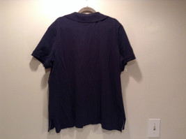 Dark Blue Short Sleeve Cotton Blend Tommy Hilfiger Polo Shirt Size 2X image 4