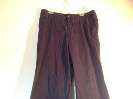 Dark Blue Casual Eddie Bauer Size 14 Outdoors Specialty Vashion Fit Pants image 2