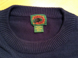 Dark Blue with Embroidered Golf Design Boston Traders Sweater Size 2XL Tall image 7