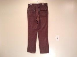 Dark Brown Corduroy Jeans Calvin Klein Jeans 100 Percent Cotton No Size Tag image 4