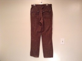 Dark Brown Corduroy Jeans Calvin Klein Jeans 100 Percent Cotton No Size Tag image 3