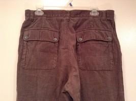 Dark Brown Corduroy Jeans Calvin Klein Jeans 100 Percent Cotton No Size Tag image 5