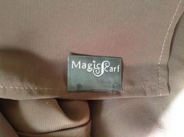 Dark Brown Fashion Scarf Chiffon Like Material by Magic Scarf Company image 6