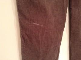 Dark Brown Corduroy Jeans Calvin Klein Jeans 100 Percent Cotton No Size Tag image 6