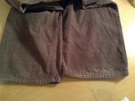 Dark Brown Corduroy Jeans Calvin Klein Jeans 100 Percent Cotton No Size Tag image 10