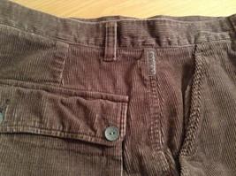 Dark Brown Corduroy Jeans Calvin Klein Jeans 100 Percent Cotton No Size Tag image 9