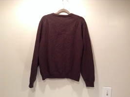 Dark Brown V Neck Long Sleeve Brooks Brothers Sweater Size Large image 4