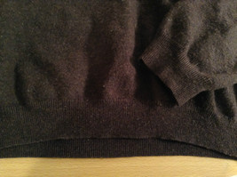 Dark Brown V Neck Long Sleeve Brooks Brothers Sweater Size Large image 7