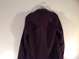 Dark Brown Size Large New York and Company Long Sleeve Button Up Blouse image 6