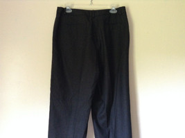 Dark Gray 100 Percent Wool Pants Inner Lining Cuffed Bottoms by David N Size 0 image 5