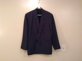 Dark Gray Jacket and Pant Suit COZZ Size Medium Two Button Closure Jacket image 2