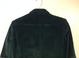Dark Gray Fully Lined Ladies 100% Cotton Blazer Jacket by Slices, Size 9 image 5