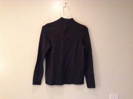 Dark Gray Carlisle Sport Size Small 100 Percent Lambs Wool Turtleneck Sweater image 2