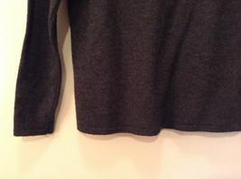 Dark Gray Carlisle Sport Size Small 100 Percent Lambs Wool Turtleneck Sweater image 6