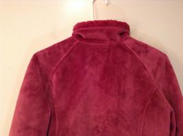 Dark Pink Size S Faux Fur Jacket Front Pockets Front Zipper Closure Green Tea image 6