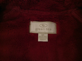 Dark Pink Size S Faux Fur Jacket Front Pockets Front Zipper Closure Green Tea image 9