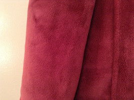 Dark Pink Size S Faux Fur Jacket Front Pockets Front Zipper Closure Green Tea image 8
