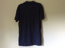 Dark Navy Blue Size Medium Short Sleeve Casual Shirt by Tommy Hilfiger Collared image 6