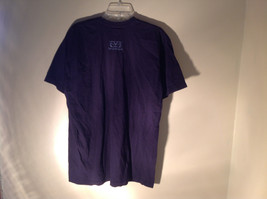 Dark Purple Short Sleeve Be Present Logo on Front and Back Size XL image 4