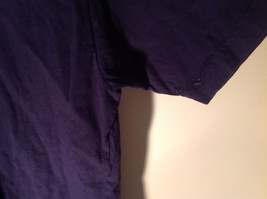 Dark Purple Short Sleeve Be Present Logo on Front and Back Size XL image 6