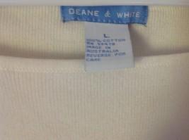 Deane and White Short Sleeve Size Large 100 Percent Cotton Shirt image 3