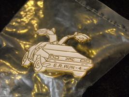 Delorean E. R. Run 4 Car Pin image 2