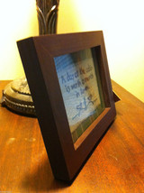 Distressed look new stitchery A Day at the Cabin is worth a month in town framed image 3