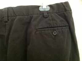 Dockers Classic Fit Brown Work Pants Front and Back Pockets Waist Size 42 image 4