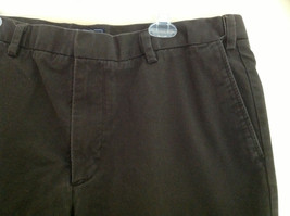 Dockers Classic Fit Brown Work Pants Front and Back Pockets Waist Size 42 image 3