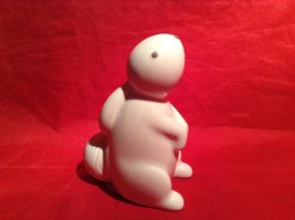 Department 56 Forest Lane baby bunny rabbit in white ceramic image 3