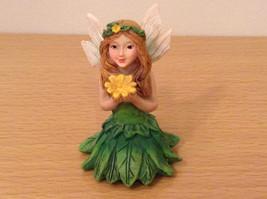 Department 56 Garden Guardian Violet Flower Trinket Box w Small Fairy Inside image 9
