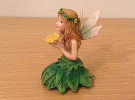 Department 56 Garden Guardian Violet Flower Trinket Box w Small Fairy Inside image 10