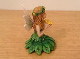 Department 56 Garden Guardian Violet Flower Trinket Box w Small Fairy Inside image 12